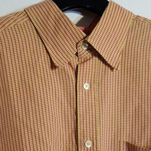 EUC VINTAGE XL Bugatchi Button Down Shirt